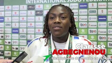 Championnats du monde seniors 2021 – Clarisse Agbegnenou : « Encore du chemin, mais je suis prête »