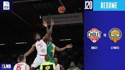 Cholet vs. Le Portel (86-78) - Résumé - 2020/21