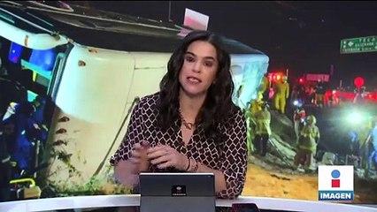 Accidente carretero en Rosarito dejó 7 muertos y varios heridos