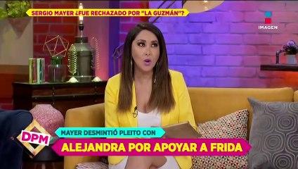 Sergio Mayer niega pleito con Alejandra Guzmán por apoyar a Frida Sofía