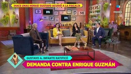 Fiscalía ofrece a Gustavo Adolfo seguridad tras amenazas de Enrique Guzmán