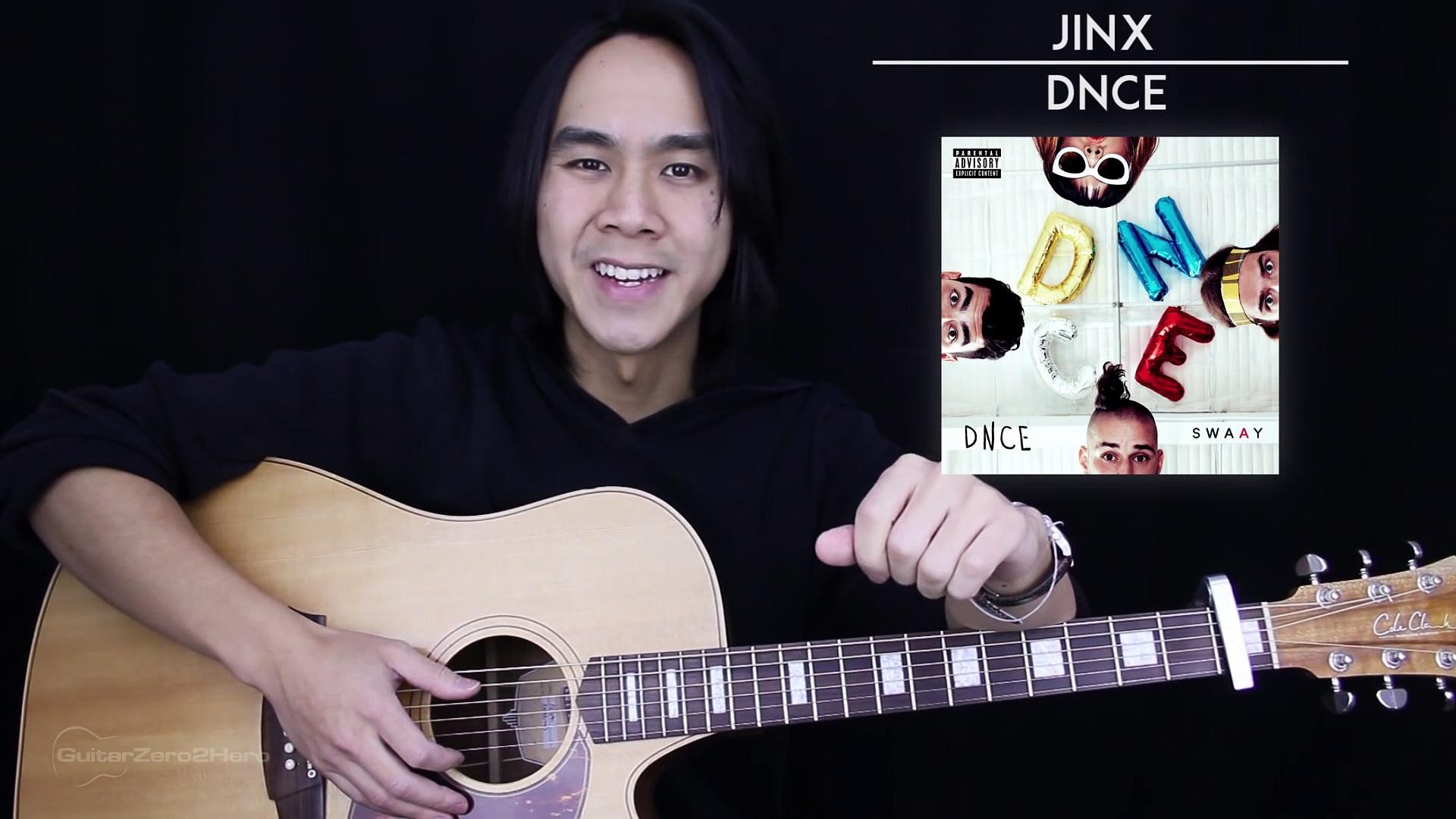 Jinx Guitar Tutorial – DNCE Guitar Lesson Tabs + Chords + Guitar Cover