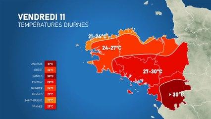 Illustration de l'actualité Fortes chaleurs durables en Bretagne