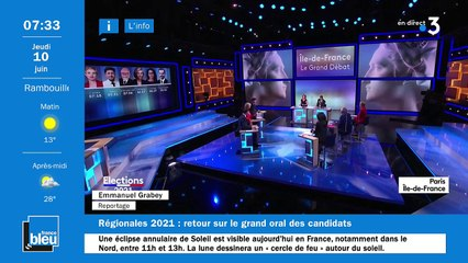 10/06/2021 - La matinale de France Bleu Paris