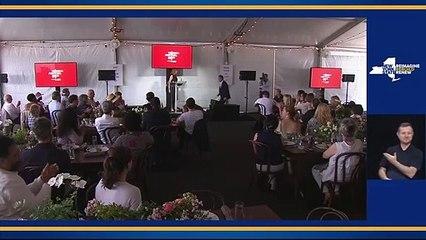 LIVE - Governor Cuomo speaks at New York's Tribeca Film Festival