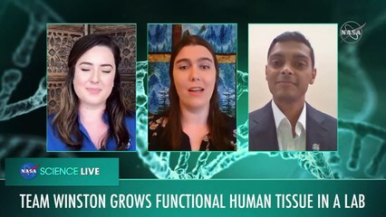 LIVE - NASA announces winners of challenge to engineer human tissue