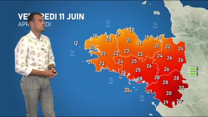 Illustration de l'actualité La météo de votre vendredi 11 juin 2021