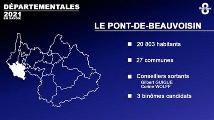 Canton de Pont-de-Beauvoisin