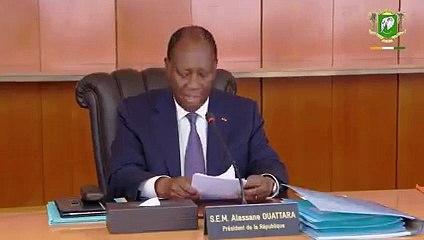 Mise en place des Districts: Déclaration du Président Alassane Ouattara