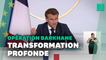 """Emmanuel Macron annonce la fin de Barkhane au Sahel en tant que """"opération extérieure"""""""
