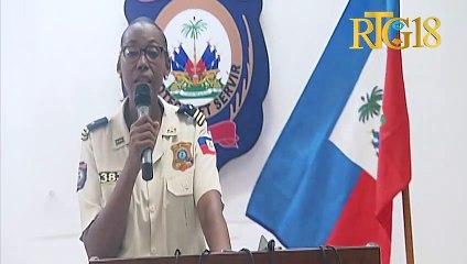 Direksyon jeneral PNH la prezante bilan atak ki fèt sou plizyè antèn polis ak sou komisarya.
