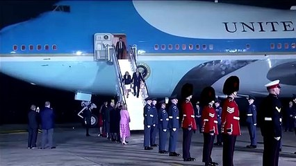Biden lands in UK's Cornwall for G7 summit