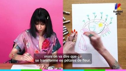 Le Papier Crayon de la peintre Natacha Birds