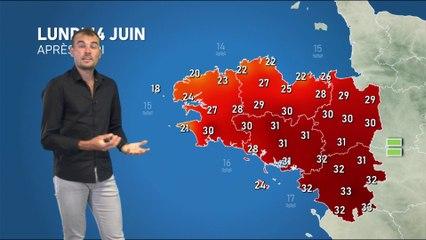 Illustration de l'actualité La météo de votre lundi 14 juin 2021