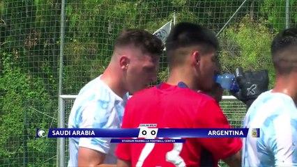 RELIVE: Pre-Olympic Match Week Marbella: U23 Saudi Arabia v U23 Argentina 11.06.2021