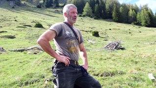 Gerhard Köhle, Bewirtschafter der Heuberg-Alm in Serfaus