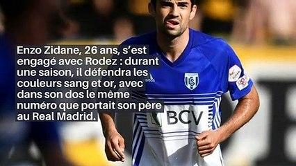 Football : les raisons qui ont amené Enzo Zidane à signer à Rodez_IN
