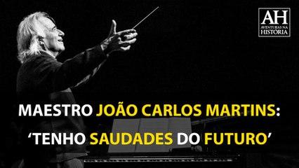 MAESTRO E PIANISTA JOÃO CARLOS MARTINS COMPARTILHA SENTIMENTO ÍNTIMO: 'TENHO SAUDADE DO FUTURO'