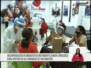 Zulia | Brigadistas del MSV se incorporan a las Jornadas de Vacunación contra la COVID-19