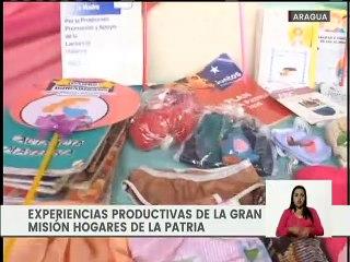 """Experiencias productivas de la """"Gran Misión Hogares de la Patria"""" en el estado Aragua"""