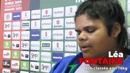 Championnats du monde seniors 2021 – Léa Fontaine : « De l'expérience d'emmagasinée »
