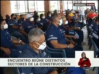 Clase Obrera entrega propuestas para el fortalecimiento del sector construcción en Miranda