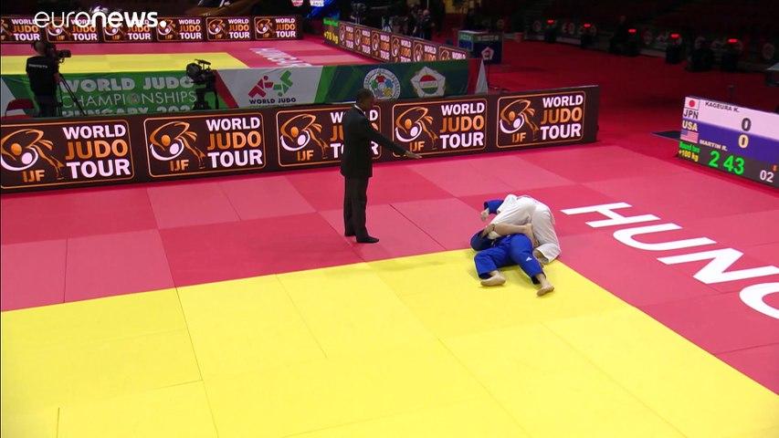 Judo Dünya Şampiyonası: Japon judokalar zirvede yer aldı