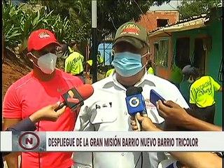 Rehabilitación de Viviendas y Mejoramiento de la Infraestructura en las Comunidades de La Guaira
