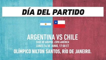 Argentina manda sobre Chile… excepto en Copa América: Copa América