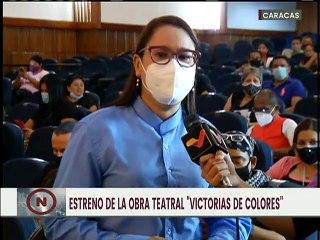 """Obra teatral """"Victoria de Colores"""" se estrena a pocos días de la celebración del Bicentenario"""