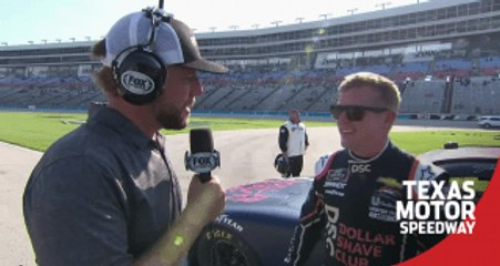 Justin Allgaier: 'Oh-so close' at Texas Motor Speedway
