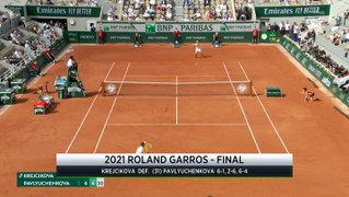 French Open Day 14 Recap: Barbara Krejcikova Claims First Major Title
