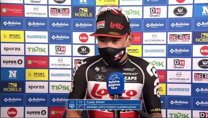 "Tour de Belgique 2021 - Caleb Ewan : ""It's a bit disappointing to end like that"""