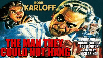 The Man They Could not Hang (La Horca Fatal) 1939 with Boris Karloff/Spn Sub
