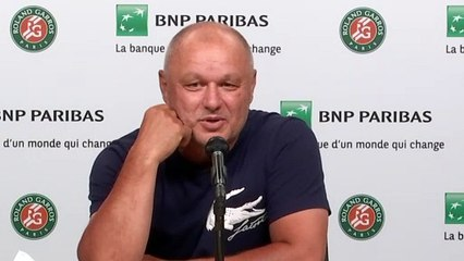 """Roland-Garros 2021 - Marian Vajda : """"If Novak Djokovic manages to make the four Grand Slams this year, it's the end, we'll stop with Goran Ivanisavic, it's over"""""""