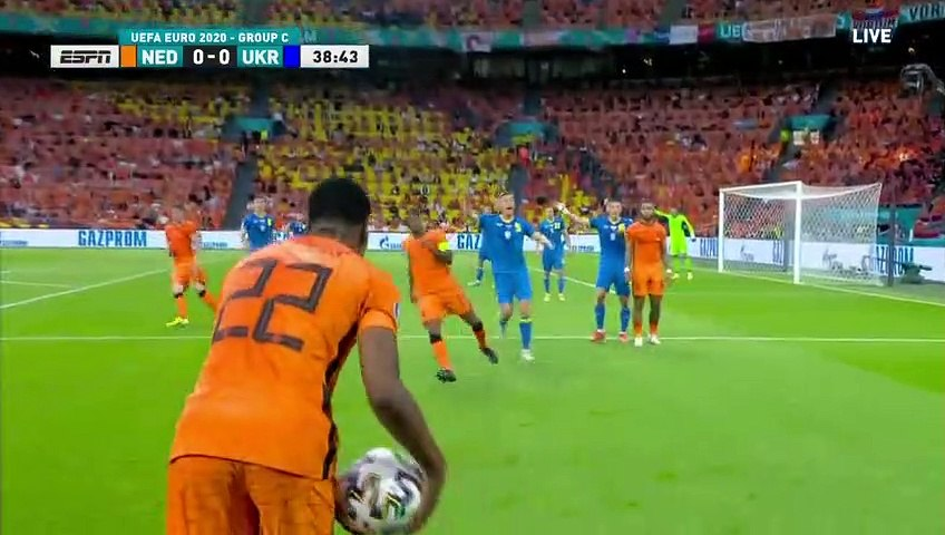 Netherlands vs Ukraine All Goals and Highlights 13/06/2021