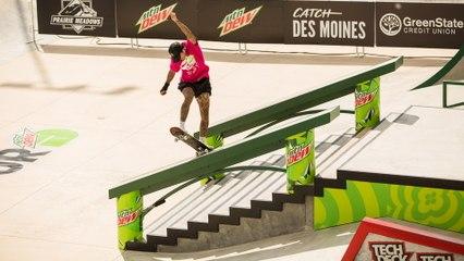 Video Highlights: Best of Men's Street Skateboarding   Dew Tour Des Moines 2021