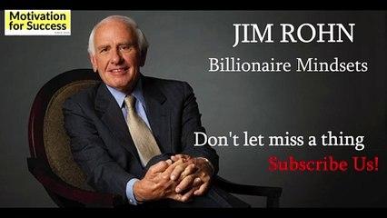 Billionaire Mindset - Jim Rohn - Personal Development - Motivation For Success