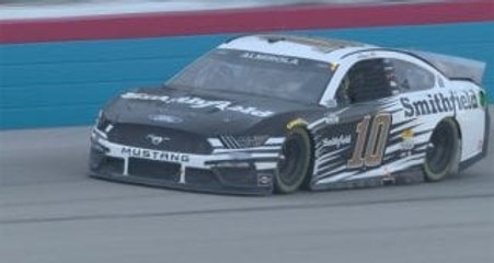 Aric Almirola wins Round 3 of the All-Star Open