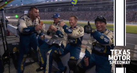 Chase Elliott's No. 9 pit crew wins $100,000 in Texas