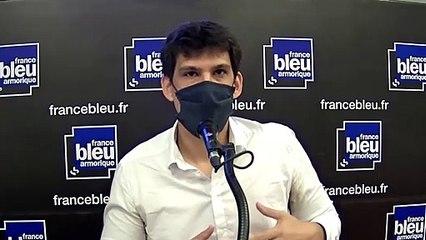 Mickaël Hugonnet, candidat de la France Insumise pour les élections départementales en Ille-et-Vilaine.