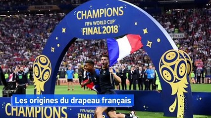 Les origines du drapeau français