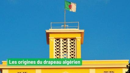 Les origines du drapeau algérien