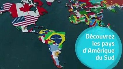 Les pays d'Amérique du Sud et leur drapeau