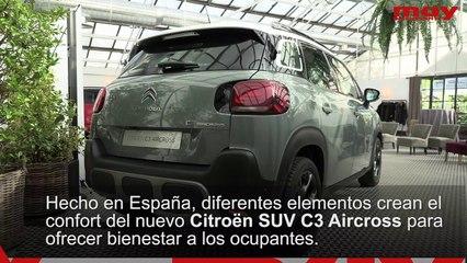 Asientos Citroën C3 Aircross