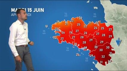 Illustration de l'actualité La météo de votre mardi 15 juin 2021