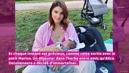 Camille Lacourt et Alice Detollenaere partagent les premiers instants de leur vie de parents