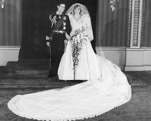 Los secretos detrás del vestido de novia de Lady Di