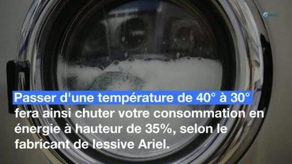 Machine à laver : comment dépenser moins d'énergie ?