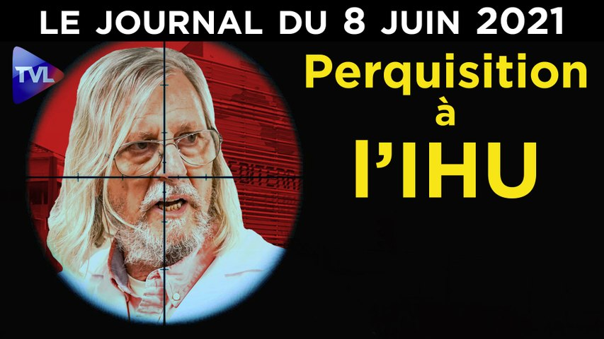 Covid : Didier Raoult, Macron et les moutons - JT du lundi 14 juin 2021
